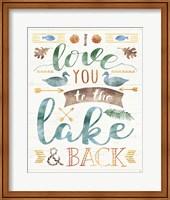 Lake Love II Fine Art Print
