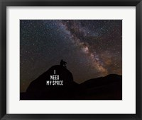 I Need My Space - Color Fine Art Print