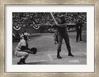Fidel at Bat Fine Art Print