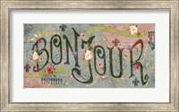 Bonjour Fine Art Print