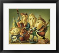 Bluegrass Boy Band Fine Art Print
