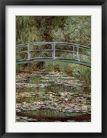 Waterlily Pond, Japanese Bridge Fine Art Print