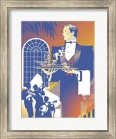 Band And Waiter Fine Art Print