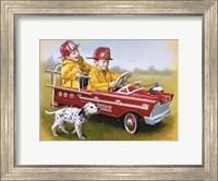 1959 Murray Fire Truck Fine Art Print