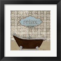 Relax - Tub Fine Art Print