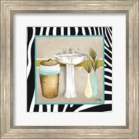 Zebra Bath II Fine Art Print