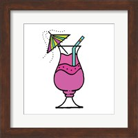 Tropical Drinks IV Fine Art Print