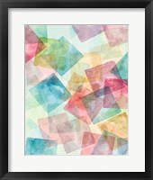 Merging Shapes I Fine Art Print