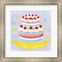 BDay Cake Fine Art Print