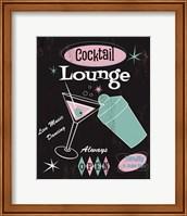 Cocktail Lounge Fine Art Print
