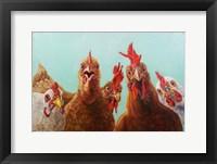 Chicken for Dinner Fine Art Print