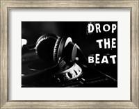Drop The Beat - Black and White Fine Art Print