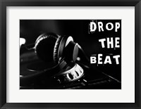 Drop The Beat - Black and White Fine Art Print