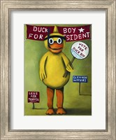 Duck Boy 2 Fine Art Print
