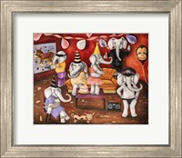 White Elephant Party Fine Art Print