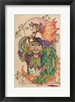 Mistress Summer And Lord Bacchus Fine Art Print