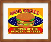 Burger Universe Fine Art Print