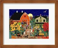 Halloween Barn Dance Fine Art Print