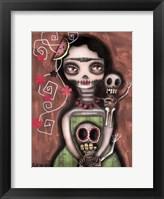Frida Day Of The Dead Fine Art Print