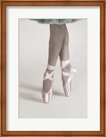 Dancing En Pointe Color Fine Art Print