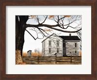 Harvest Time House Fine Art Print