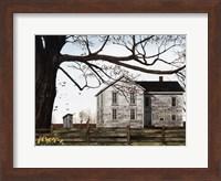 Spring Morning House Fine Art Print