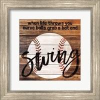Grab a Bat and Swing Fine Art Print