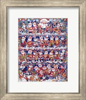 Will The Real Santa 2 Fine Art Print