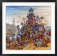 Lighthouse Treasure Fine Art Print