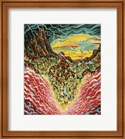 Parting The Red Sea Fine Art Print