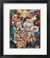 Poker Cats Fine Art Print