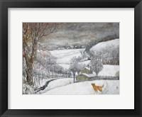 Daisy's First Snow Fine Art Print