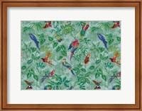 Aviary Aqua Fine Art Print