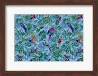 Aviary Blue Fine Art Print