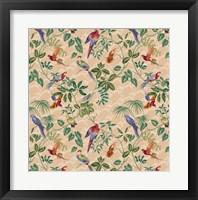Aviary Small Scroll Neutral Fine Art Print