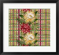 Cereus Plaid Multi Fine Art Print