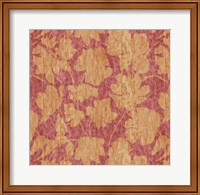 Floral Waltz Mono Rose Gold Fine Art Print