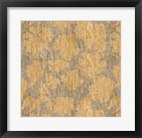 Floral Waltz Mono Sand Straw Fine Art Print