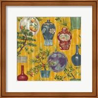 Japanese Vases Gold1 Fine Art Print