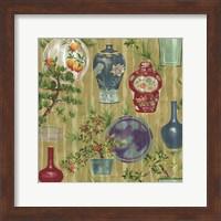 Japanese Vases Neutral1 Fine Art Print
