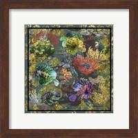 Golden Coral Seas Fine Art Print