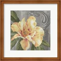 Nouveau Yellow Peony Fine Art Print