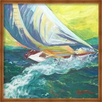 Regatta Colores Fine Art Print