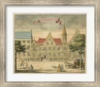 Scenes of the Hague II Fine Art Print
