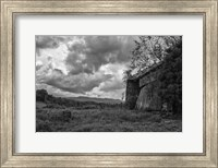 mayberry barn2BW Fine Art Print