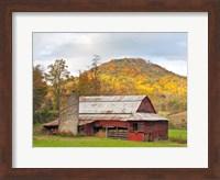robertson barn Fine Art Print