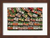 soda pop bottles Fine Art Print