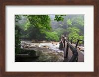 Wooden Bridge Fine Art Print