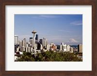 Seattle Cityscape, Seattle, Washington 02 - Color Fine Art Print