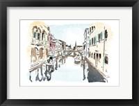 Venice In Ink Fine Art Print
